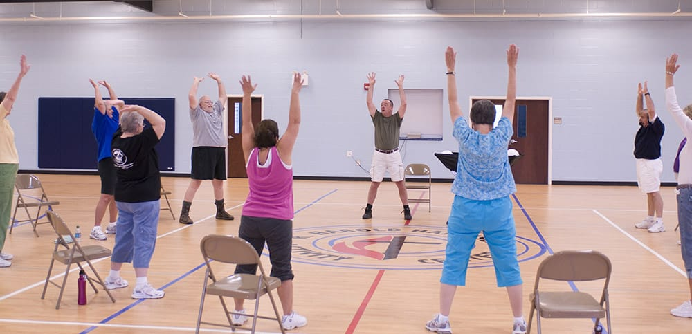 exercise class image