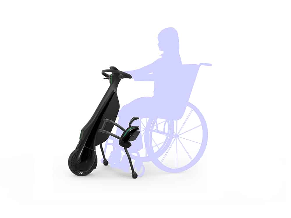 Toyota Walking Area BEV Wheelchair-linked Type image