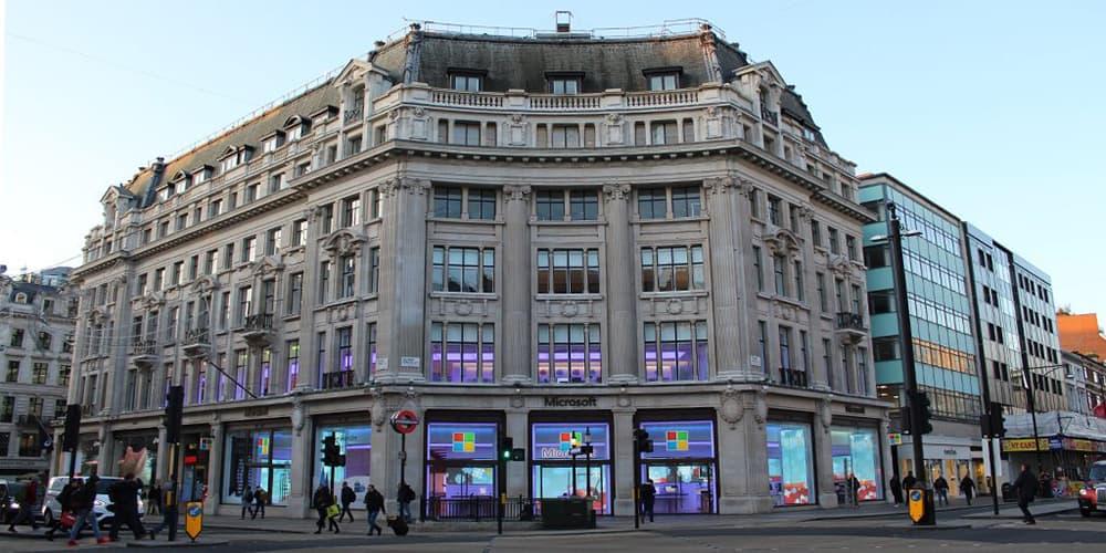 Microsoft London store image