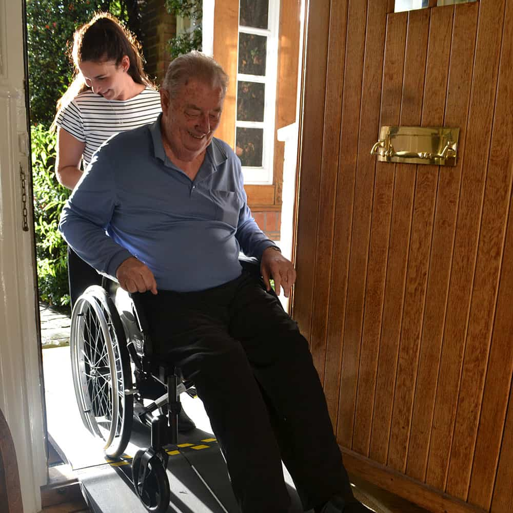 Chris Eliot with his Secret Access ramp image