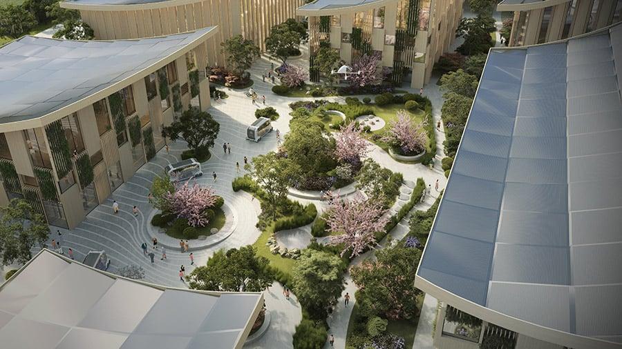 Toyota's smart city concept image