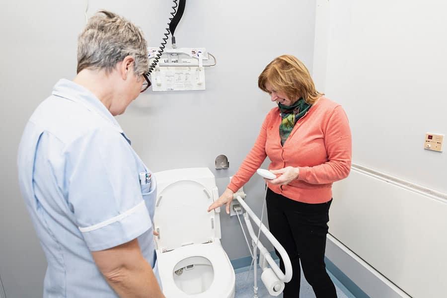 Closomat toilet image