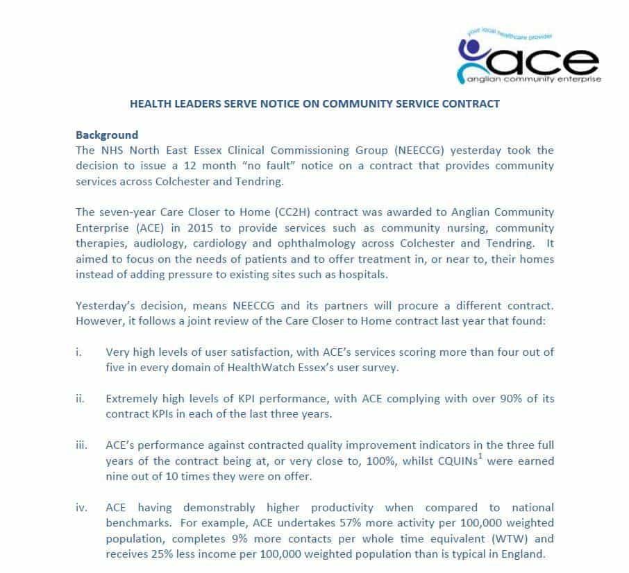 ACE notice image