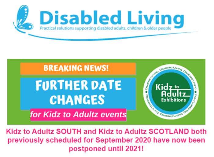 Kidz to Adultz South and Scotland new dates image