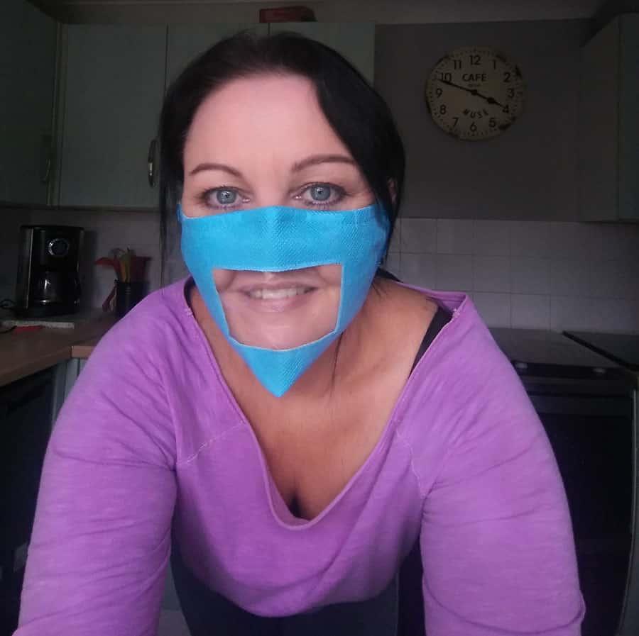 Friendly Face Mask image