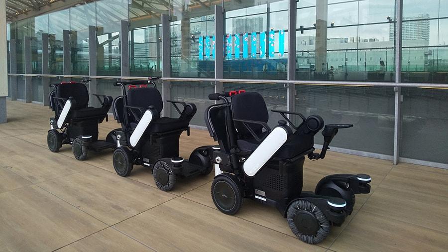 Panasonic self-driving powerchairs image