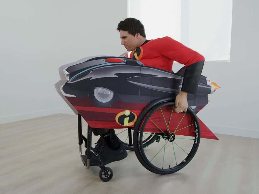 Disney Incredimobile Wheelchair Cover Set image