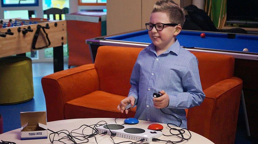 Adaptive gaming equipment image