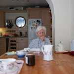 Elderly lady image