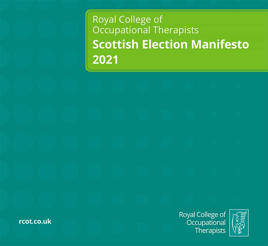 RCOT Scottish Election Manifesto 2021 image