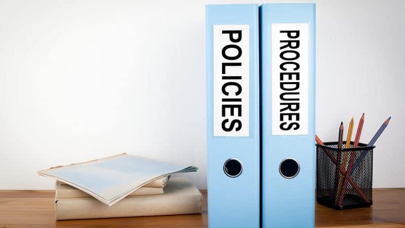 policies and procedures image