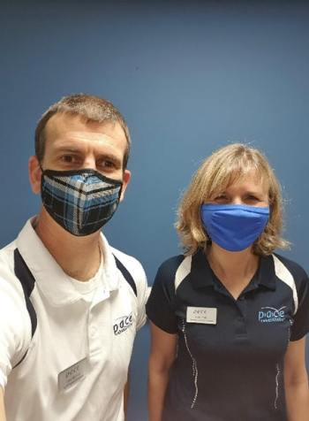 David Morrison and Helen Scotty head up the new Glasgow clinic for amputees image