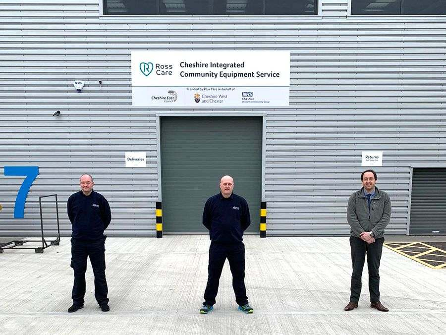 Ross Care launches Cheshire Integrated Community Equipment Service contract  image