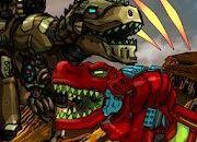 Dino Robot Battle Arena : Dinosaur game