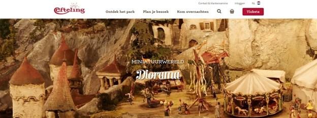 Efteling Diorama