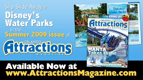 Slip Slide Away at Disney's Water Parks in the Summer 2009 issue