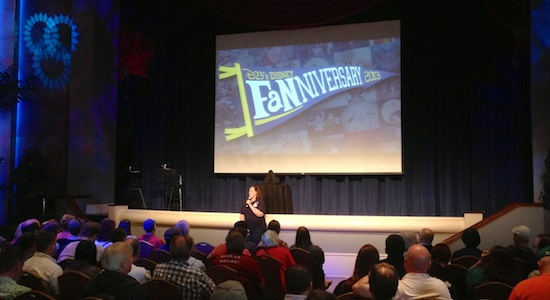 D23 Fanniversary event 2013 Orlando