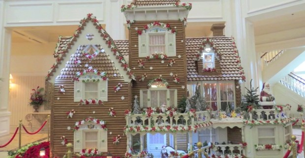 Grand Floridian life-size gingerbread house