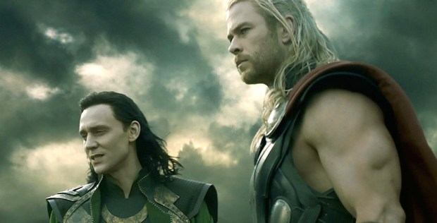 Thor and Loki in The Dark World movie