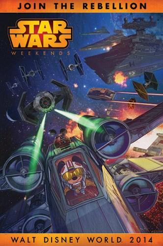 Star Wars Weekends 2014 poster