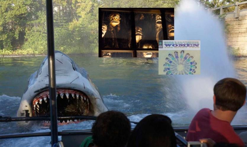 Universal Orlando retired attractions