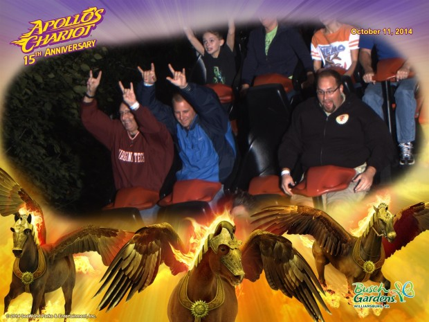 Apollo's Chariot Busch Gardens Williamsburg