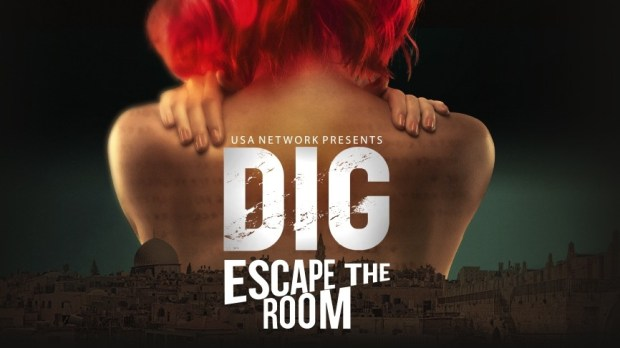 dig escape the room universal orlando usa network