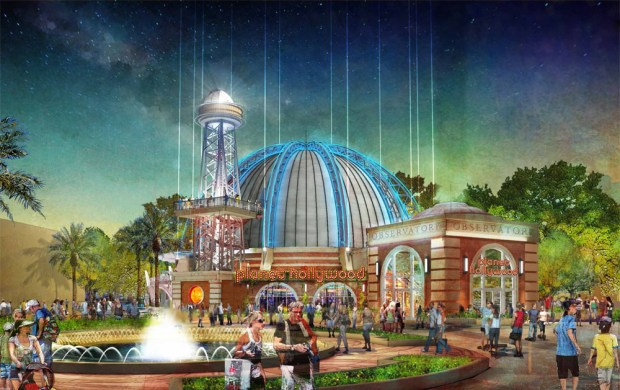 planet hollywood orlando redesign
