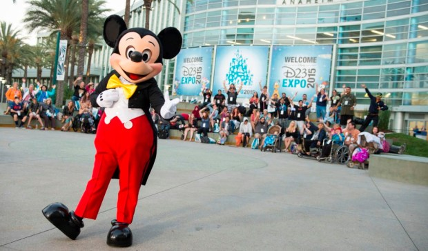 D23 Expo 2015 Mickey Mouse