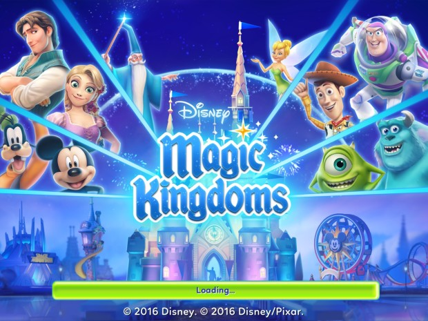 Game loft's Disney Magic Kingdoms mobile game has arrived on Apple and Android devices.