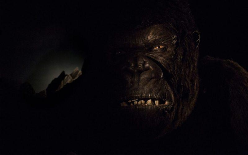 Skull Island King Kong animatronic