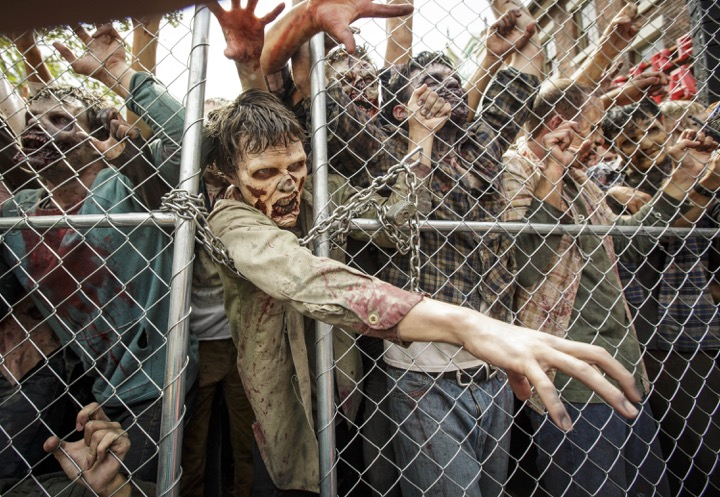 Universal Studios Hollywood The Walking Dead Attraction