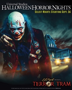 Eli Roth Terror Tram Universal Studios Hollywood Halloween Horror Nights