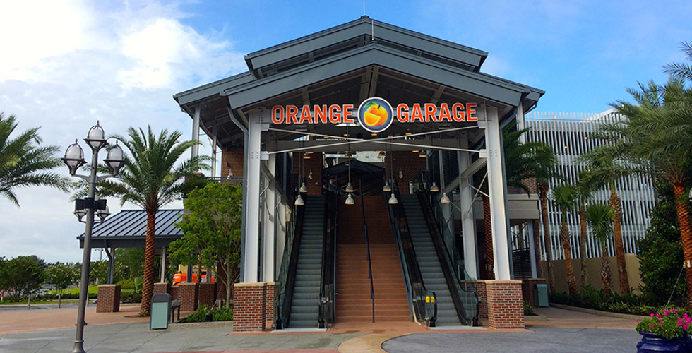 third disney springs parking garage