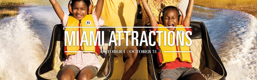 Miami Attractions Month