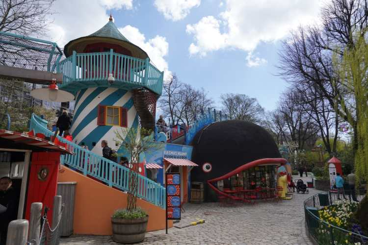 Rasmus Klump area in tivoli