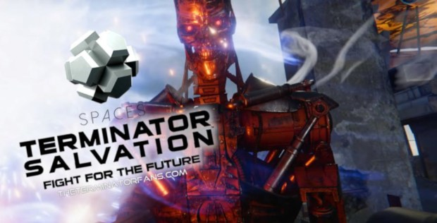 Terminator Salvation VR Cinemark Spaces San Jose