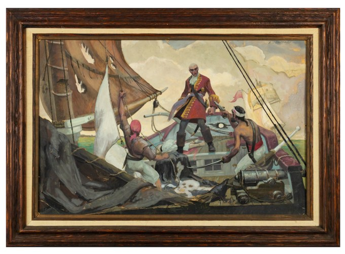 pirates painting