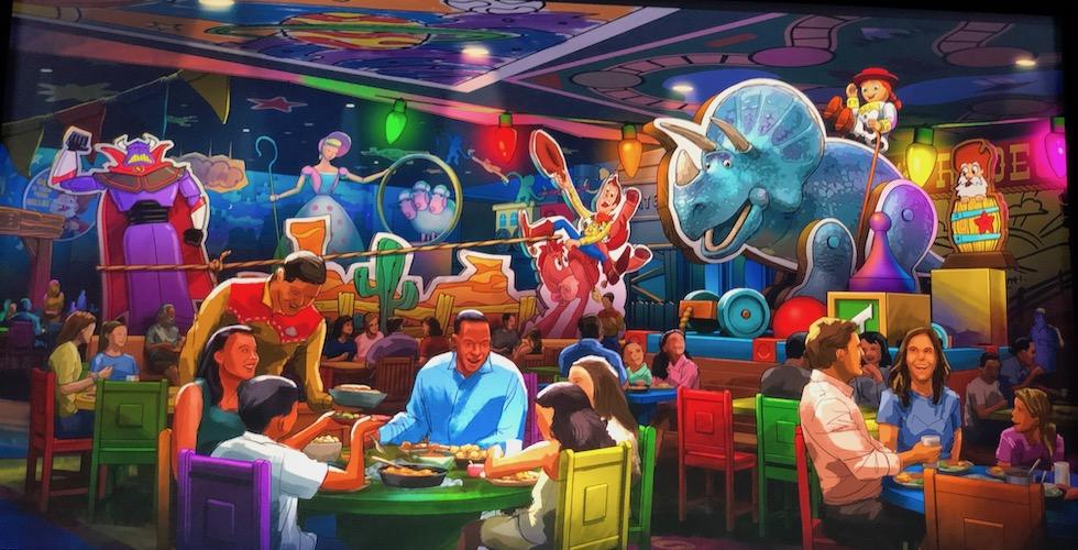 toy story restaurant