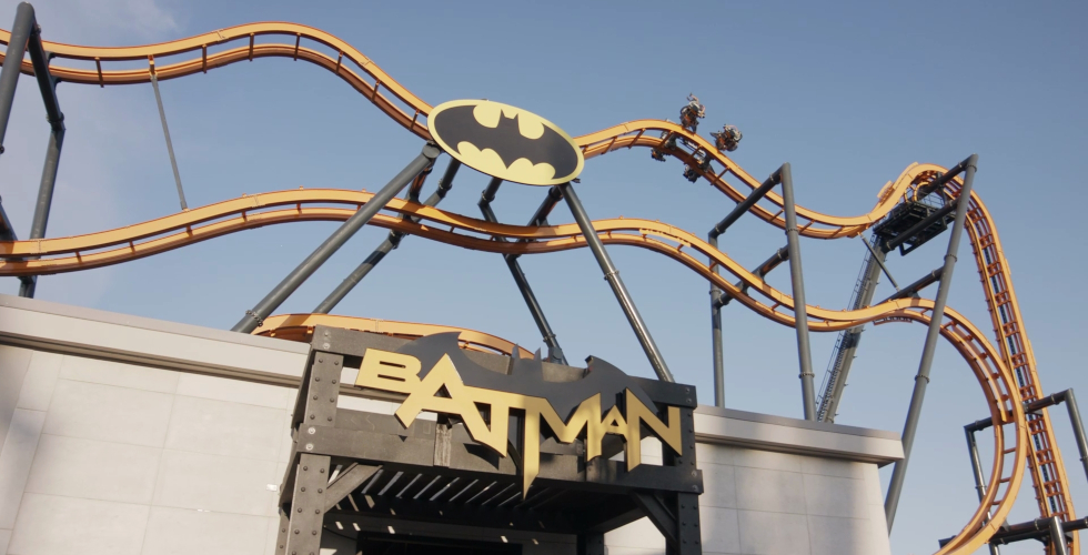 Batman The Ride Six Flags Discovery Kingdom