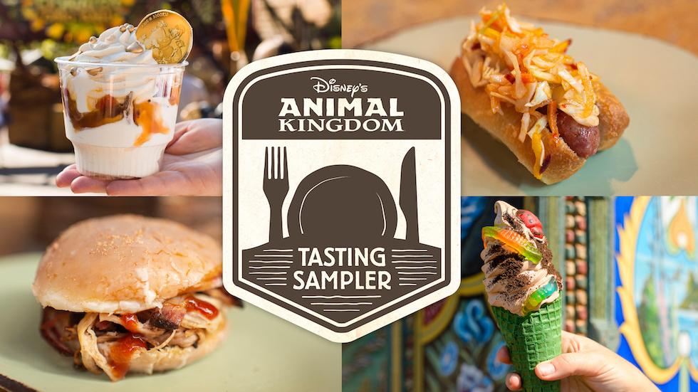 animal kingdom tasting sampler