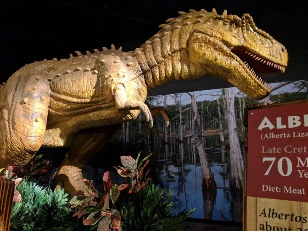 Graceland Exhibition Center dinosaur