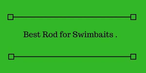 Best Rod for Swimbaits