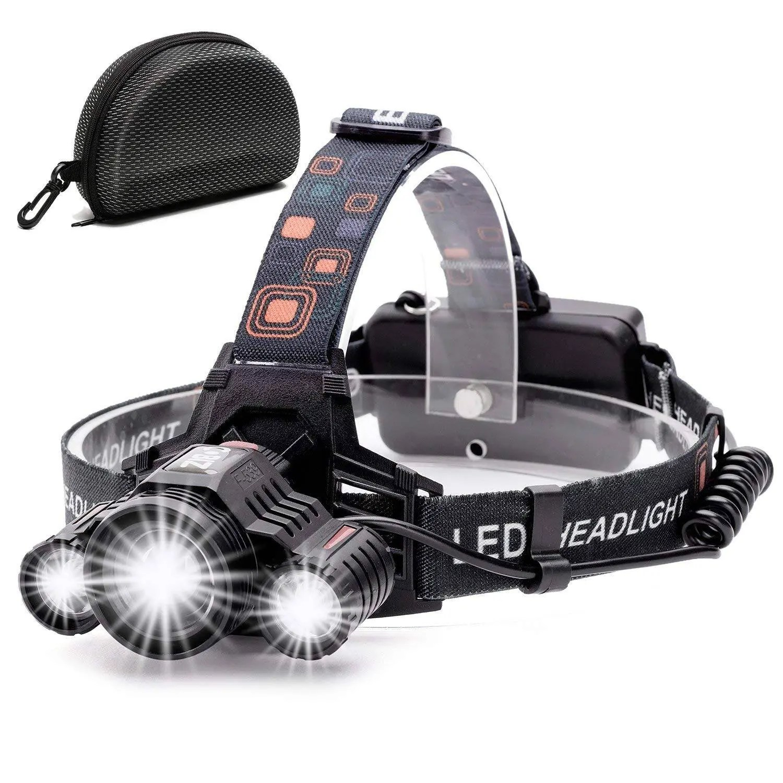 Headlamp,Cobiz Brightest 6000 Lumen CREE