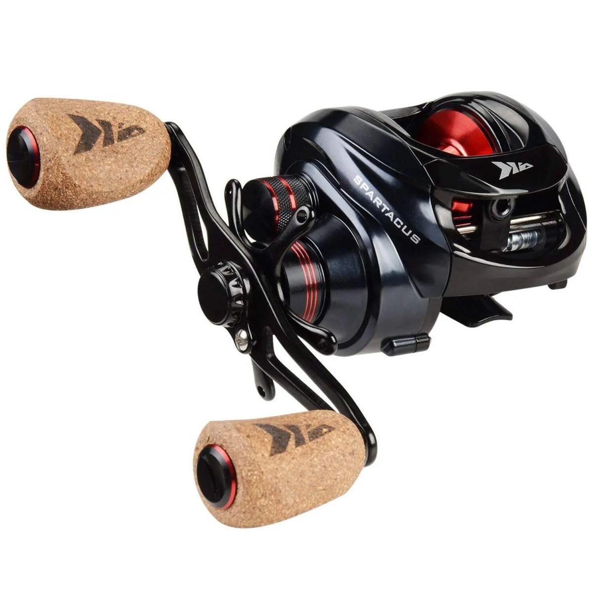 KastKing Spartacus Plus Baitcasting Fishing Reel Ultra Smooth