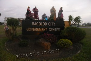 Bacolod City Replica in Government Center