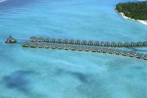 Maldives resort, Paradise Island