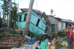 House Damage from Typhoon Yolanda 20