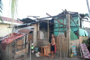 House Damage from Typhoon Yolanda 23