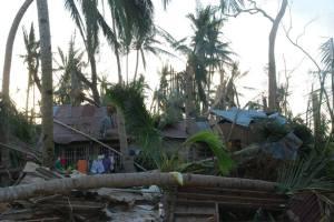 House Damage from Typhoon Yolanda 25